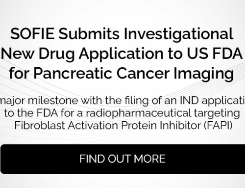 SOFIE Submits Investigational New Drug Application to US FDA for Pancreatic Cancer Imaging